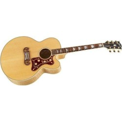 Gibson SJ-200 EC Antique Natural Cutaway 2012