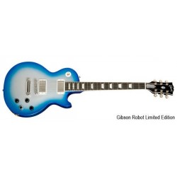 Gibson Les Paul Robot Studio Blue Silver Lt. Edition 1st Run